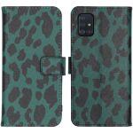 iMoshion Coque silicone design Samsung Galaxy A51 - Green Leopard