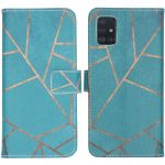 iMoshion Coque silicone design Samsung Galaxy A51 - Blue Graphic