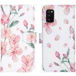 iMoshion Coque silicone design Galaxy A41 - Blossom Watercolor White