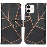 iMoshion Coque silicone design iPhone 12 Mini - Black Graphic