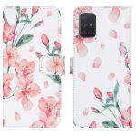 iMoshion Coque silicone design Galaxy A71 - Blossom Watercolor White