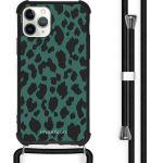 iMoshion Coque Design avec cordon iPhone 11 Pro - Léopard - Vert