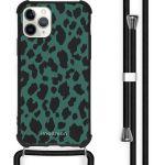 iMoshion Coque Design avec cordon iPhone 11 Pro Max - Léopard - Vert