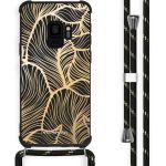 iMoshion Coque Design avec cordon Samsung Galaxy S9 - Feuilles