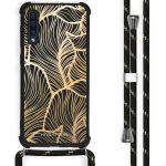 iMoshion Coque Design avec cordon Samsung Galaxy A50 - Feuilles