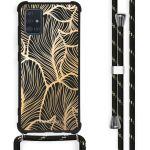 iMoshion Coque Design avec cordon Samsung Galaxy A51 - Feuilles