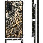 iMoshion Coque Design avec cordon Samsung Galaxy A41 - Feuilles