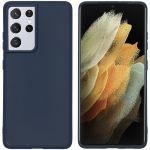 iMoshion Coque Color Samsung Galaxy S21 Ultra - Bleu foncé