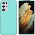 iMoshion Coque Color Samsung Galaxy S21 Ultra - Menthe verte