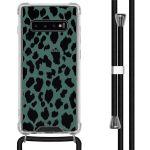 iMoshion Coque Design avec cordon Samsung Galaxy S10 Plus - Léopard