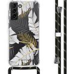 iMoshion Coque Design avec cordon Galaxy S21 Plus - Feuilles