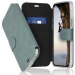 Accezz Étui de téléphone Xtreme Wallet iPhone 12 (Pro) - Bleu clair