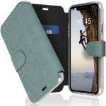 Accezz Étui de téléphone Xtreme Wallet iPhone 11 - Bleu clair
