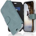 Accezz Étui de téléphone Xtreme Wallet iPhone 12 Mini - Bleu clair