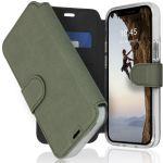 Accezz Étui de téléphone Xtreme Wallet iPhone 12 Mini - Vert clair