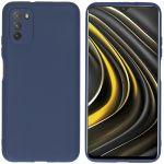iMoshion Coque Color Xiaomi Poco M3 - Bleu foncé