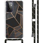 iMoshion Coque Design avec cordon Galaxy A72 - Cuive graphique - Noir