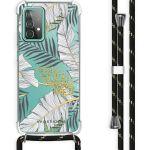iMoshion Coque Design avec cordon Galaxy A52 5G/A52 4G - Feuilles