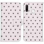 iMoshion Coque silicone design Huawei P30 Lite - Hearts Allover White