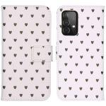 iMoshion Coque silicone design Galaxy A72 - Hearts Allover White