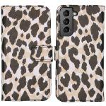 iMoshion Coque silicone design Galaxy S21 - Golden Leopard
