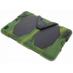 Coque Protection Army extrême iPad (2018) / (2017) - Vert