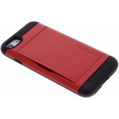Spigen Coque Slim Armor CS iPhone SE (2020) / 8 / 7 - Rouge