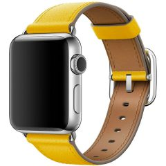 Apple Leather Band Buckle Apple Watch Series 1-7 / SE - 38/40mm - Sunflower