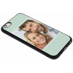 Concevez votre propre coque en gel iPhone 6 / 6s - Noir