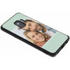 Concevez votre propre coque en gel Samsung Galaxy S9 - Noir