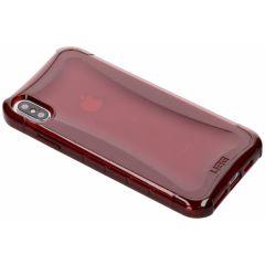 UAG Coque Plyo iPhone Xs Max - Rouge
