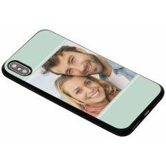 Concevez votre propre coque en gel iPhone Xs Max - Noir