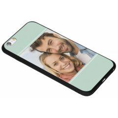 Concevez votre propre coque en gel iPhone 6(s) Plus - Noir