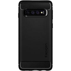 Spigen Coque Rugged Armor Samsung Galaxy S10 - Noir