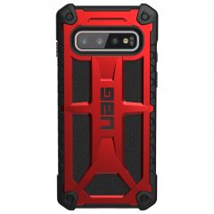 UAG Coque Monarch Samsung Galaxy S10 - Rouge