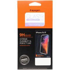Spigen Protection d'écran GLAStR iPhone Xs / X