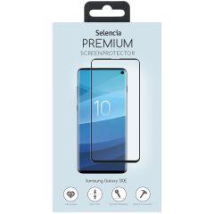 Selencia Protection d'écran premium en verre durci Galaxy S10e