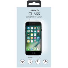 Selencia Protection d'écran en verre durci iPhone 8 / 7 / 6s / 6
