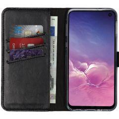 Selencia Étui de téléphone en cuir véritable Samsung Galaxy S10e