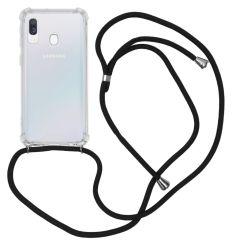 iMoshion Coque avec cordon Samsung Galaxy A40 - Noir