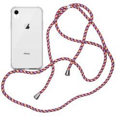 iMoshion Coque avec cordon iPhone Xr - Violet