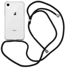 iMoshion Coque avec cordon iPhone Xr - Noir