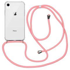 iMoshion Coque avec cordon iPhone Xr - Rose