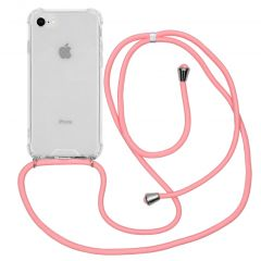 iMoshion Coque avec cordon iPhone SE (2020) / 8 / 7 - Rose