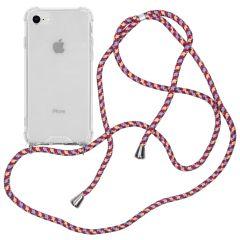 iMoshion Coque avec cordon iPhone SE (2020) / 8 / 7 - Violet