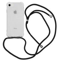 iMoshion Coque avec cordon iPhone SE (2020) / 8 / 7 - Noir