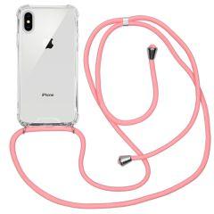 iMoshion Coque avec cordon iPhone Xs / X - Rose