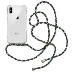 iMoshion Coque avec cordon iPhone Xs / X - Vert