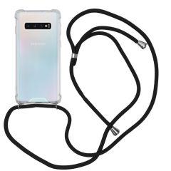 iMoshion Coque avec cordon Samsung Galaxy S10 - Noir