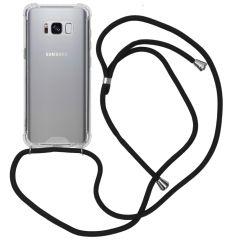 iMoshion Coque avec cordon Samsung Galaxy S8 - Noir